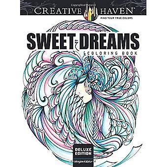 Kreativa oas Deluxe Edition Sweet Dreams målarbok