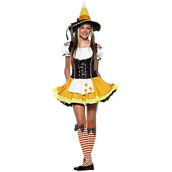 Costume Teen Witch de maïs jaune