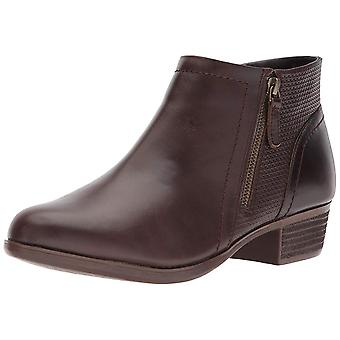 Cobb Hill Womens Oliana Leather Almond Toe Ankle Fashion Boots
