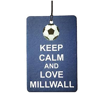 Keep Calm And Love Millwall Car Air Freshener