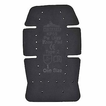 Portwest - Ultra Knee Pad Black Regular