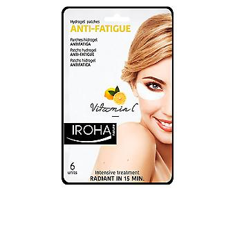Iroha Eyes & Lips Hydrogel Patches Anti-fatigue Vitamin C 6 Pcs For Women