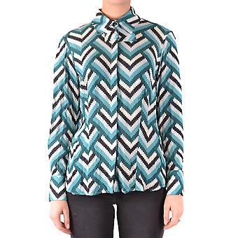 Elisabetta Franchi Ezbc050176 Frauen's Multicolor Viskose Shirt