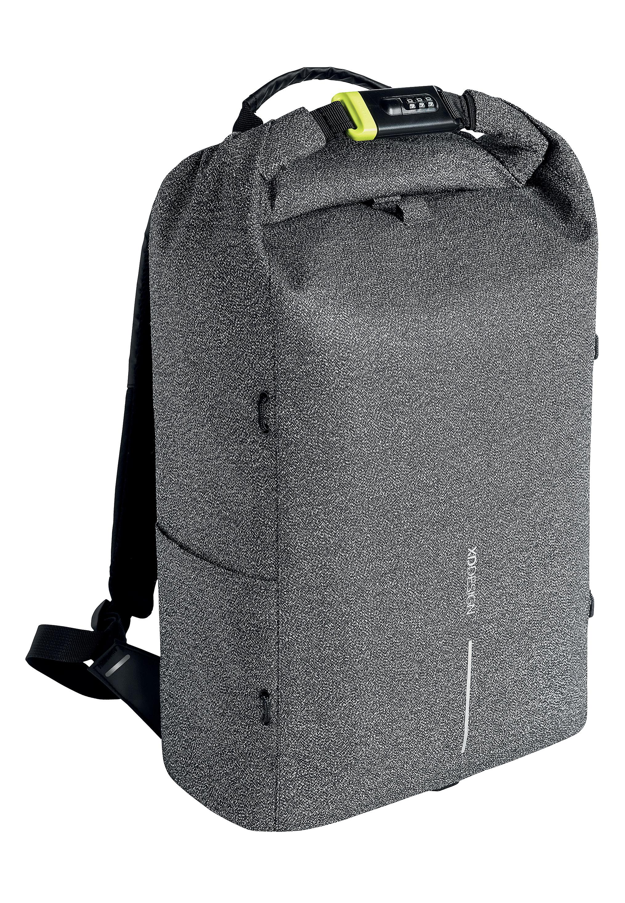 XD Design Urban Cut Resistant Anti-Theft Backpack Grey (Travel Bag)