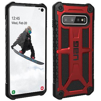Samsung Galaxy S10 Protective Case UAG MONARCH - Red