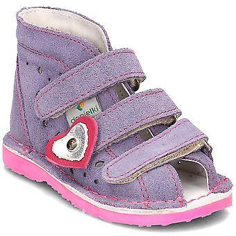 Danielki TA125 TA125WRZOSFLUOF home all year kids shoes