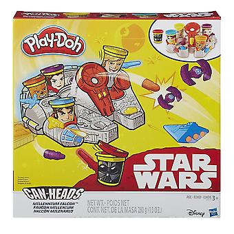 Play-doh Star Wars Can-heads Millennium Falcon