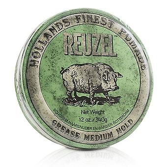 Reuzel Green Pomade (Grease Medium Hold) 340g/12oz