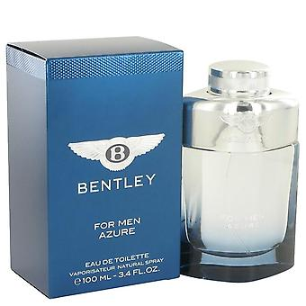 Bentley azure eau de toilette spray mennessä Bentley 517634 100 ml