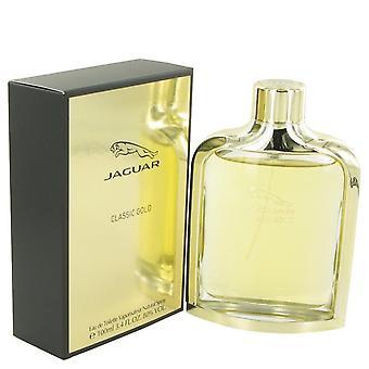 Jaguar clássico ouro eau de toilette spray por jaguar 499657 100 ml