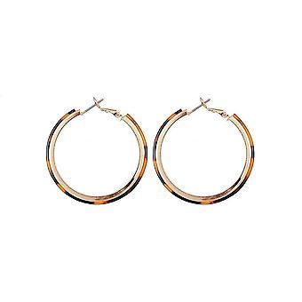 Jewelcity Sunkissed Womens/Ladies Layer Hoop Earrings