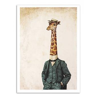 Art-Poster - High class gentleman (Colored version) - Mike Koubou