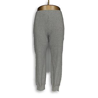 Anybody Women's Petite Lounge Pants XSP Loungewear Cozy Knit Gray A345613