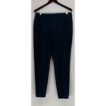 Isaac Mizrahi Live! Kvinder ' s Petite jeans 24/7 denim lige blå A297722