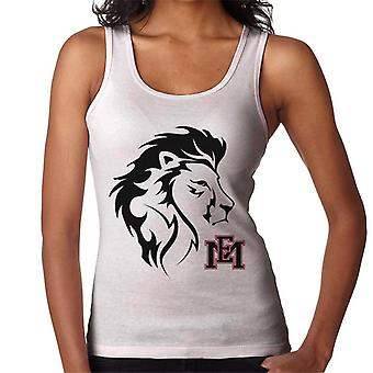 East Mississippi Community College Lion Head Logo Women's Vest