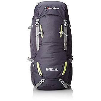 بيرغهاوس ريدجواي 65 زائد 10 حقيبة الظهر المشي لمسافات طويلة - الكربون / الجير مشرق - حجم 65-10 لتر
