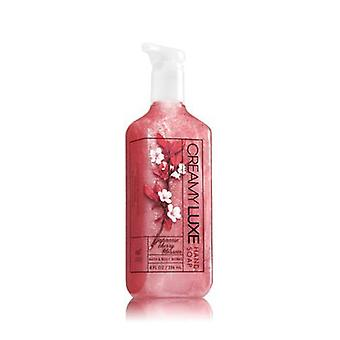 Bath & Body Works Japanese Cherry Blossom Creamy Luxe Hand Soap 8 oz / 236 ml ( 2 Lot )