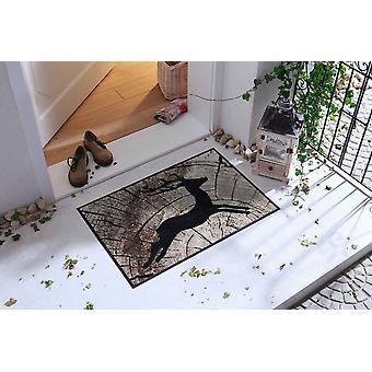 Salonloewe Doormat kulkee Deer 50 x 75 cm pestävä lika matto