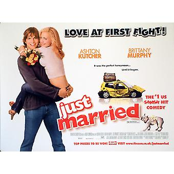 Just Married Original Cinema Poster