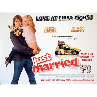 Vain naimisissa alkuperäinen elokuva juliste