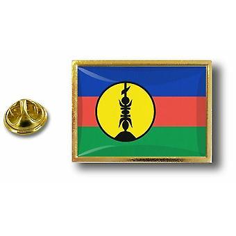 Kiefer PineS Abzeichen Pin-Apos;s Metall-Flagge neue Caledonie Kanak Kanaky