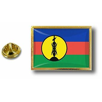 Pine PineS Badge Pin-apos;s Metal Flag New Caledonie Kanak Kanaky
