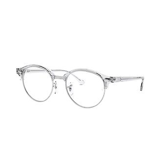 Ray-Ban Clubround RB4246V 2001 Transparent-Silver Glasses