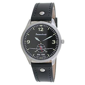 Aristo Men's Messerschmitt Watch Pilot's Watch ME-109-1069S Leather