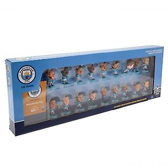 Manchester City SoccerStarz 18 Player Team Pack