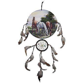 Three Horses Dreamcatcher