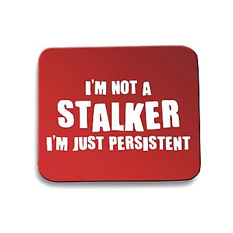 Red trk0008 persistent mouse pad