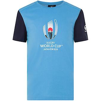Canterbury Boys Rugby World Cup Classic Graphic T Shirt Tee