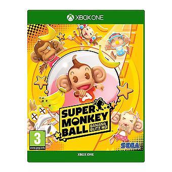 Super Monkey Ball banaan Blitz HD Xbox One spel
