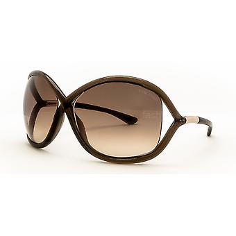 Tom Ford Whitney TF9 692 Brown/Brown Gradient Sunglasses
