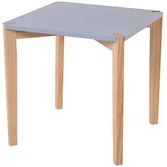 HOMCOM Side Coffee End Table Stable Solid Wood Leg Modern Stylish Design Living Room Bed Room Furniture Easy To Assemble
