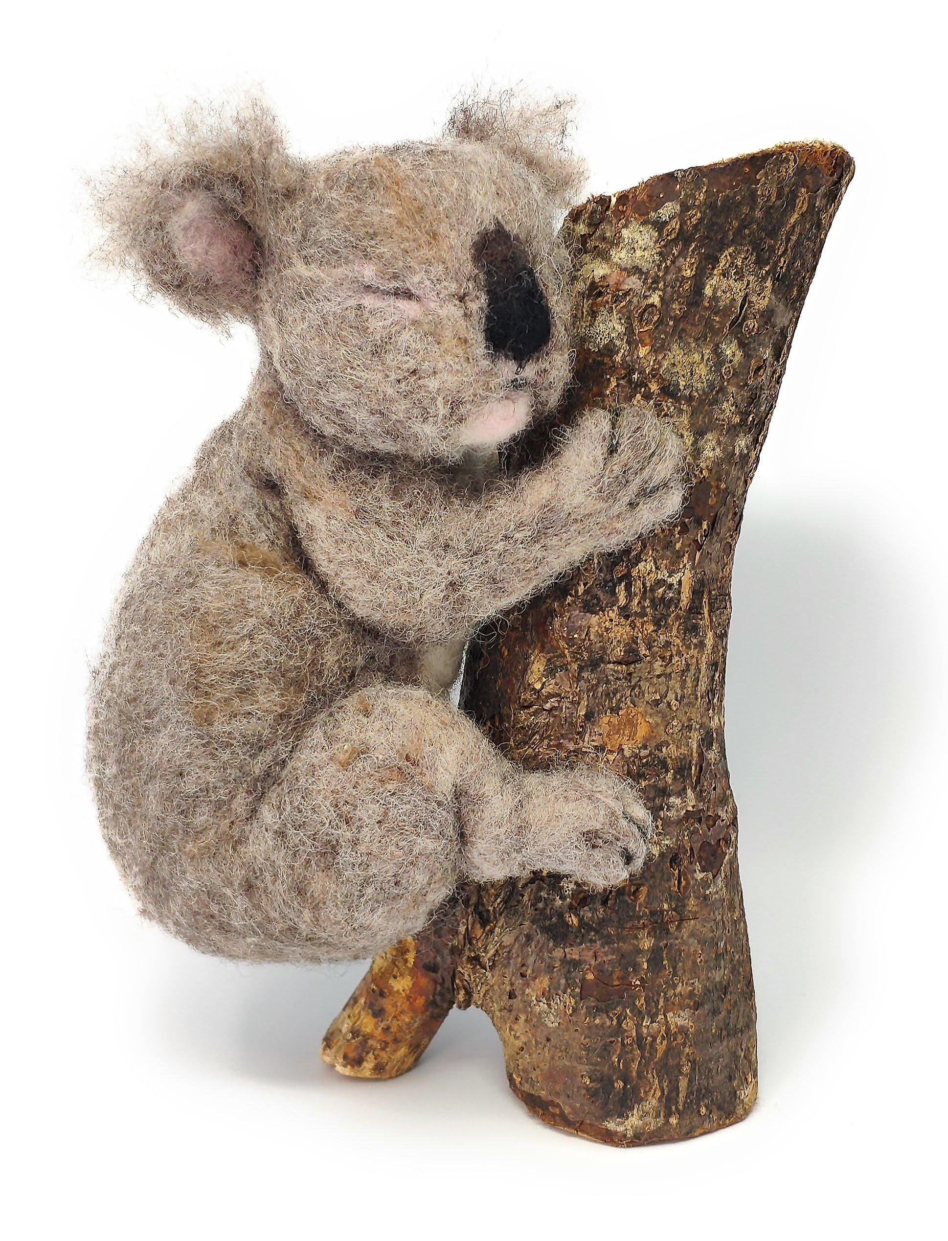 Sleepy Koala Needle Felting Kit