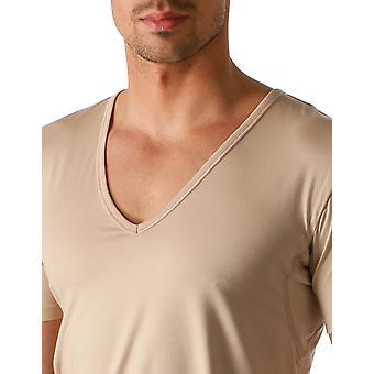 Mey 46038-111 Hommes's Dry Cotton Light Skin Beige Short Sleeve Top