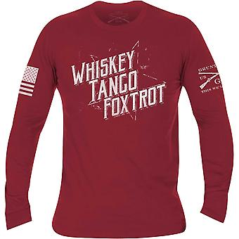 Grunt Style WTF II Long Sleeve T-Shirt - Red