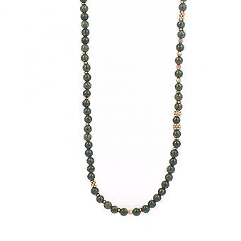Collier et pendentif Les Interchangeables A59317   - Sautoir Bobo Chic Kaki Fonce Femme
