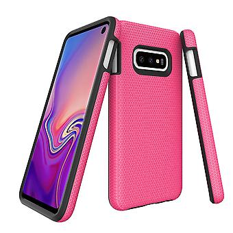 For Samsung Galaxy S10e Case, Armour Pink Protective Durable Slim Phone Cover