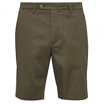 Ted Baker Smartz Khaki Green Chino Shorts