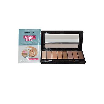Rimmel London Magnifeyes / Magnif'Eyes Eye Contouring Palette 7g Keep Calm and Wear Gold + Sample