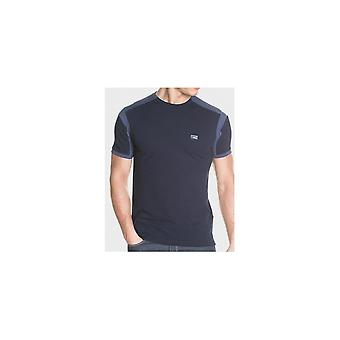 883 Police Berdon Cotton Blue T-shirt