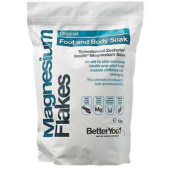 BetterYou Magnesium Flakes 1000 g