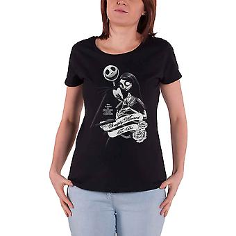 The Nightmare Before Christmas T Shirt Simply Meant To Be new Official Womens