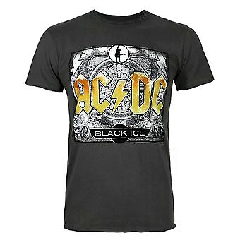 Amplified AC/DC Comics Black Ice Men's T-Shirt