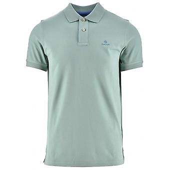GANT GANT Pfefferminze grün Polo Shirt