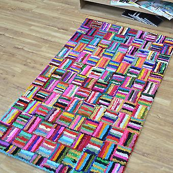 Katoen Chindi Sunshine veelkleurige tapijten 04