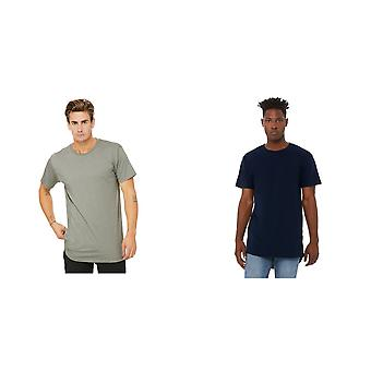 Bella + Canvas Mens Long Body Urban Tee