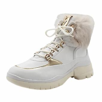 Högl 8-10 6345 Hottie Fashion Lace-up Hiking Style Boots In White
